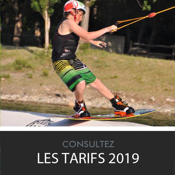 teleski nautique saint jean - tarifs 2018 - Perpignan Pyrenees-Orientales 66